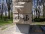 Mycie pomnika Białogard