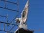 Mycie pomników Orła Białego